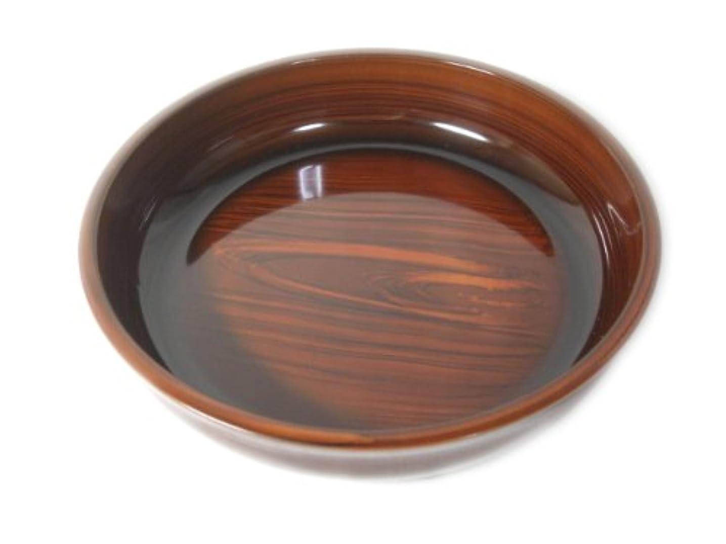 誘発する無意識穀物山中塗 桜小町 梅型 菓子鉢 7.5 溜 M13571-8