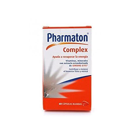 PHARMATON Complex 60 cápsulas blandas: Amazon.es: Salud y cuidado personal