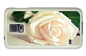 Hipster Samsung Galaxy S5 Case coolest cover white rose hd PC White for Samsung S5