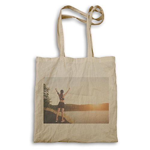 Sport Girl Beach Vacation Travel Il Mondo Carry Bag B374r