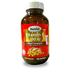 HOVID Vitamin E 200Iu 180 Softgels
