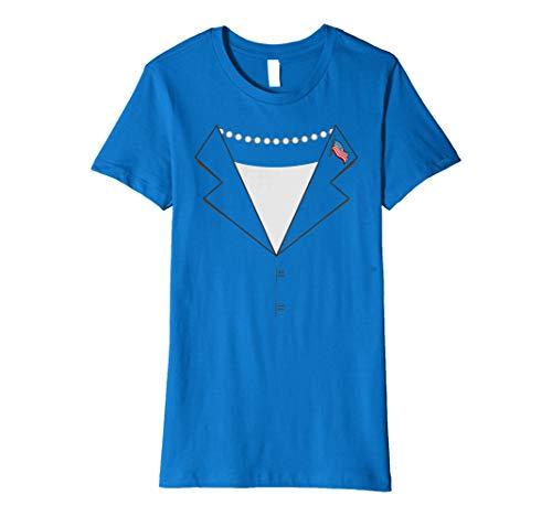 Hillary Clinton Pantsuit T-shirt Easy Halloween Costume Idea ()