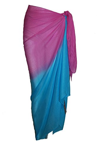 Passion 4 Fashion - Camisola - para mujer Fuschia/Turquoise