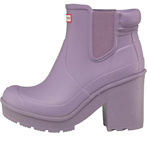 Hunter Ladies Original Block Heel Waterproof Chelsea Boots VFiv0FePk