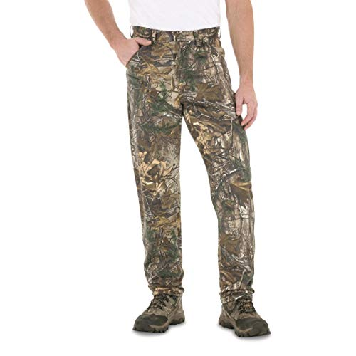 Wrangler Progear Men's 9 Pocket Hunter Pants, Realtree Xtra, Realtree Xtra, W46 L30