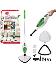 Quest 41990 Multi Function Upright and Handheld 12 in 1 and Mop with Attachments, 18/8 Stainless Steel, 1500 W