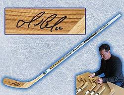 Mario Lemieux Pittsburgh Penguins Autographed KOHO Revolution Hockey Stick - Authentic Autographed Autograph