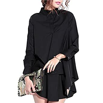 Women Plus Size Blouses Shirts Turn-down Cotton Blusas Tops Feminino