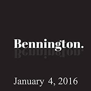 Bennington, January 4, 2016 Radio/TV Program