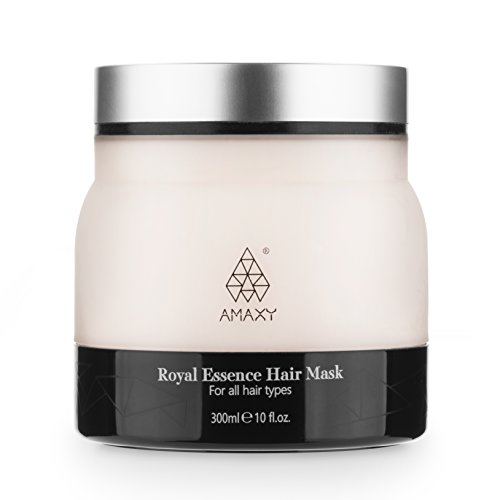Honey Infused Hair Mask - Natural, Anti Aging,Deep Conditioning Dry and Damaged Hair Repair- Restores Softness and Shine (10 Ounce) ()
