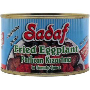 (Sadaf Fried Eggplant in Tomato Sauce 14 oz ( Pack of 2 ))