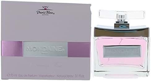 Mondaine Blooming Rose Perfume by Paris Bleu, 3.1 oz 95 ml EDP Spray Women