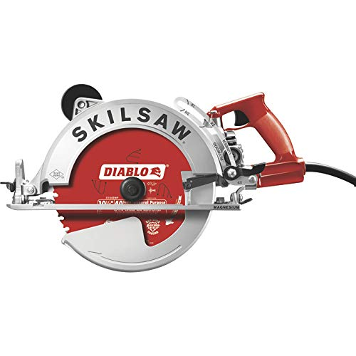 Skilsaw Magnesium Sawsquatch Worm Drive Circular Saw - 10 1/4in., 15 Amp, With Electric Brake, Model# SPT70WM-22