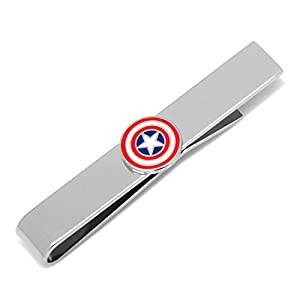 Marvel Captain America Icon Tie Bar, Officially Licensed