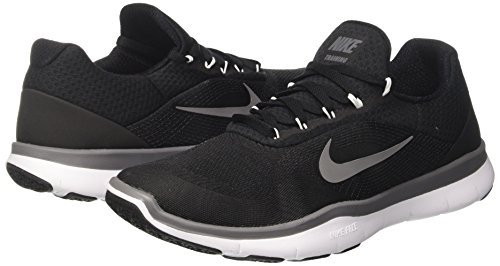 Free 10 5 Training v7 Men Men's White Dark US Grey Black Nike Trainer Shoe PwZvqPx