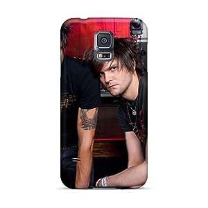 Samsung Galaxy S5 RAa17619bUFy Provide Private Custom Nice Boys Like Girls Band Series Bumper Cell-phone Hard Covers -InesWeldon