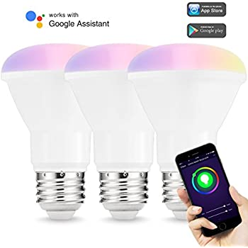 lohas br40 led smart flood light dimmable 100w 150w equivalent bulb e26 rgb color ambiance. Black Bedroom Furniture Sets. Home Design Ideas
