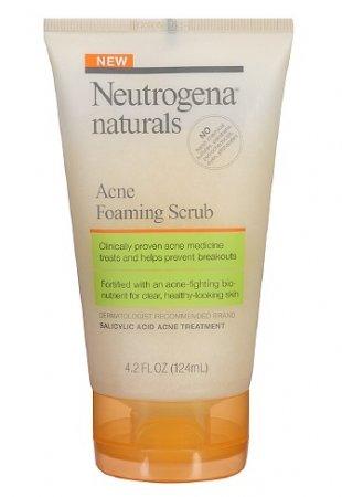 Neutrogena Naturals Acne Foaming Scrub 4.2 oz