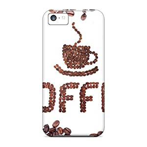 Jeffrehing PosliOG7987LcPSS Case For Iphone 5c With Nice Food Coffee Appearance