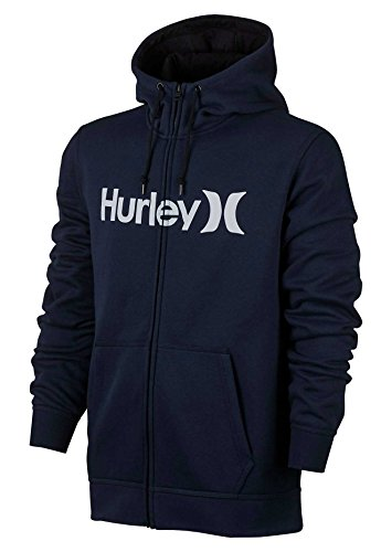 Hurley Surf Club One & Only 2.0 Zip Hoody - Obsidian - M