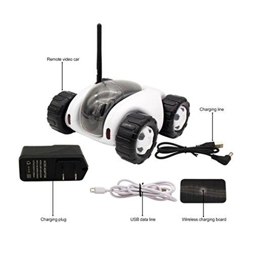 Vibola Remote Control Car Wireless remote control car camera that movement parent-child intelligent (white -O) by Vibola® (Image #3)