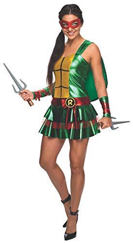Secret Wishes Women's Teenage Mutant Ninja Turtles Raphael Costume Dress, Multi, Small -