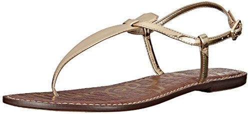 Sam Edelman Women's Gigi Thong Sandal Goldshine outlet release dates sale nicekicks free shipping factory outlet outlet Inexpensive cheap best place G7wQX