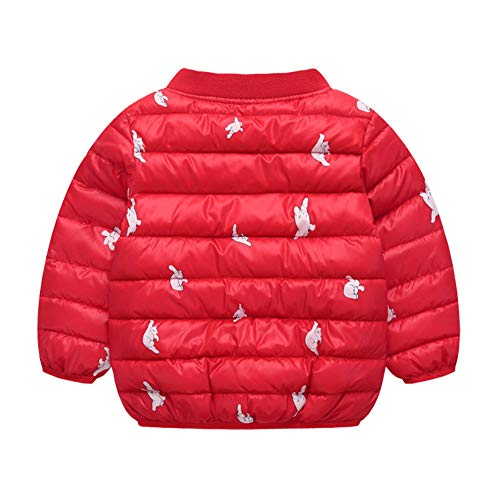 Winter Outwear Baby Red Toddler Fairy Girl Baby Warm Jacket Cotton Puffer Unisex Boy wagfYqxPYT