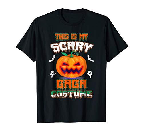 This Is My Scary Gaga Costume Halloween Shirt