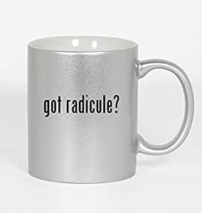 got radicule? - 11oz Silver Coffee Mug