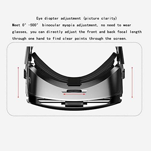 R/éGlage Dioptrique Etase Convient pour Smartphone Android 4,7 /à 6,2 Pouces Lunettes de R/éAlit/é Virtuelle K9 VR Casque de 3D Bo?Te /à Casque Tridimensionnelle