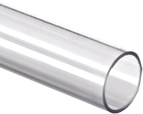 Polycarbonate Tubing, 1/4' ID x 3/8' OD x 1/16' Wall, Clear Color 36' L