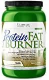 Ultimate Nutrition Protein Fat Burner Whey Protein Powder with Weight and Hunger Reducing Natural Ingredients, 30 Servings, Vanilla