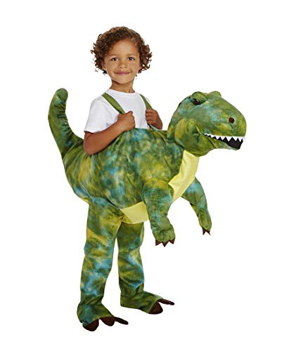 Plush Dino Rider Child Costume - One Size Fits Most -