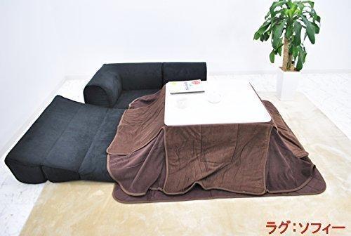 (DORIS)カウチ ローソファ 【コロン ブラウン】(dzs)