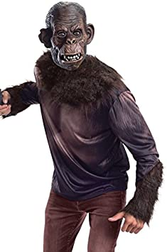 Disfraz de Koba El planeta de los simios para adulto: Amazon.es ...