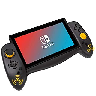 Kinvoca Switch Controller for Nintendo Switch Handheld Mode, Ergonomic Grips and Joy Pad Pro, Supports Motion Control and Dual Shock