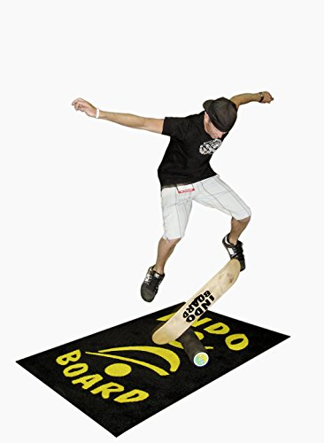 INDO BOARD Kicktail Pro Advanced Balance Board for Surfers, Skaters, Wakesurfers, Snowboarders - 39'' Long Deck with 6.5'' Roller by INDO BOARD (Image #2)