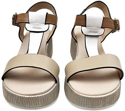 Repo 18272 sandalen, wighak, taupe