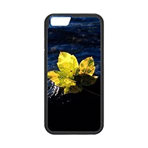 Case for IPhone 6, Green Maple Leaf on the Water Case for IPhone 6, Doah Black