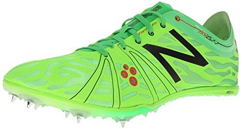 New Balance Men's MMD800V3 Middle Distance Running Shoe,Green/Navy,11 D US