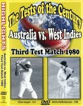 The Tests of the Century: Australia Vs West Indies - Third Test Match, 1980