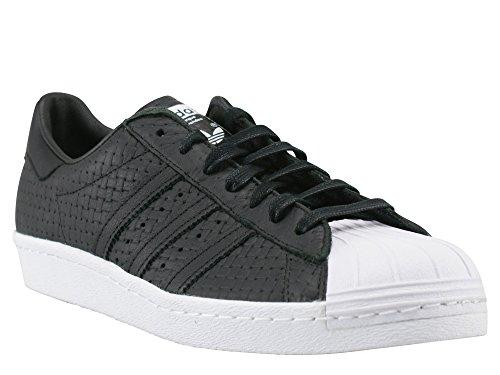 2 44 Sneaker Superstar Adidas Nero Tessuto Uomo 3 Nero 80s Aveva Moda vFvRCw