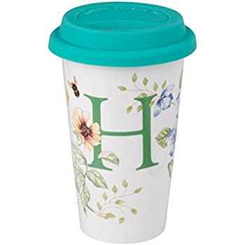 Amazon Com Lenox Butterfly Meadow Thermal Travel Mug H