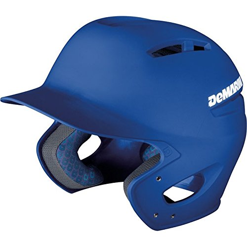 DeMarini Paradox Fitted Pro Batting Helmet Medium (6 1/8 - 7 1/4), Royal, Medium (6 1/8 - 7 1/4) (Pro Helmet Batting)