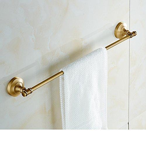 Copper continental single bar Towel rack/vintage Towel Bar/Towel hanger/pure copper metal pendants-L hot sale 2017