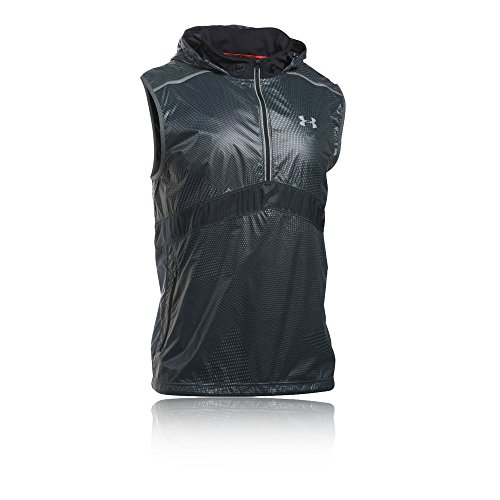 Under Armour 2020 Translucent Running Vest - SS17 - Medium - Black