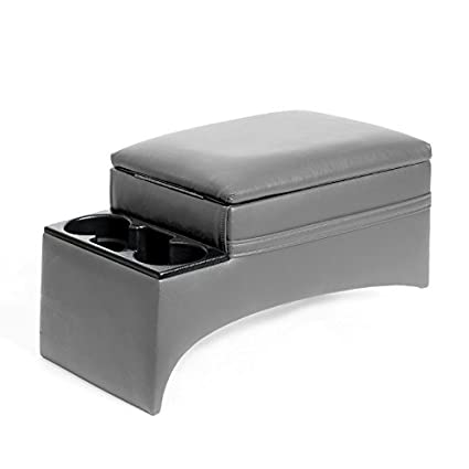 RAMPAGE PRODUCTS 39223 Universal Truck Bench Seat Console Charcoal