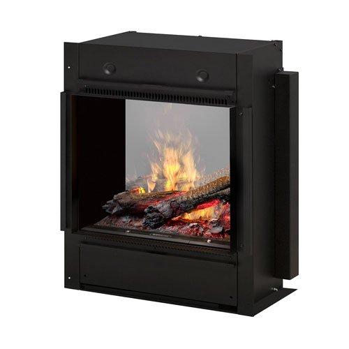 Dimplex BOF4056L Opti-Myst Pro Dossier-Style Indoor Fireplace, Black