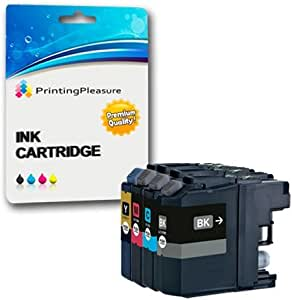 4 XL Compatibles LC223 Cartuchos de Tinta para Brother DCP-J4120DW ...